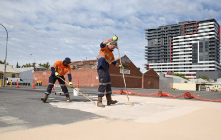 Innovative road surface keeps Adelaide cool in summer